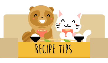 Recipe tip list grid