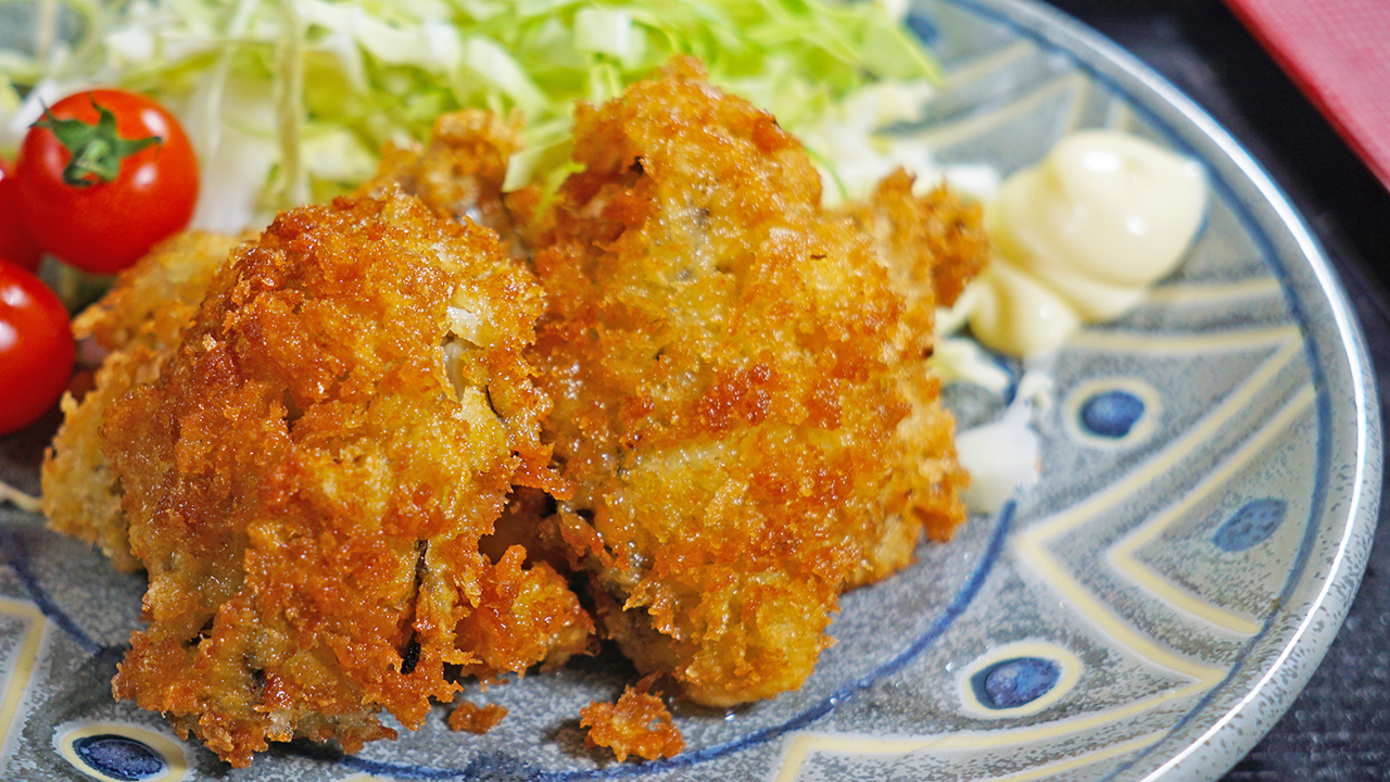 Japanese Deep Fried Oysters